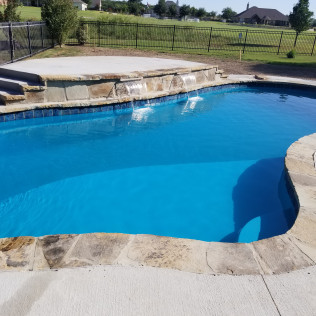pool installation belton tx